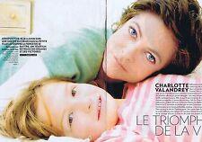 Coupure de presse Clipping 2008 Charlotte Valandrey  (4 pages)
