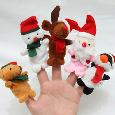 Cartoon Animal Finger Puppets Cloth Doll Baby Educational Hand Puppets