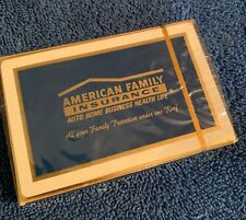 Vintage American Family Insurance Advertising Playing Cards  sealed deck