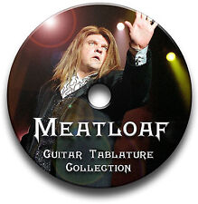 Meatloaf heavy rock guitare & clavier onglets tablature song book cd