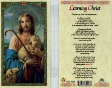 Learning Christ Catholic Prayer Holy Cards Teach Me My Lord Catholic HC9-234E
