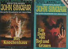 John Sinclair Band 447+496  Horror/ Lesen/ Übernatürlich/ Fantasy/ Grusel