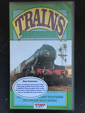 TRAINS REMEMBERED VOL 3 - VHS