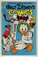 Walt Disney Comics #535 - 1988 Gladstone - Dan Jippes, Carl Barks - VF/NM (9.0)