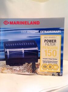 Marineland Penguin 150 BIO-Wheel Power Filter (For Aquariums up to 30 gallons; M