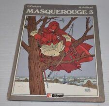 MASQUEROUGE No.3 P.Cothias / A. Juillard BD French Comic Book 1984 Glenat