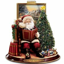 Thomas Kinkade | Night Before Christmas Storytelling Santa *NEW AS IS* - SEE AD