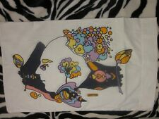 PETER MAX rare Vintage Pillow Case slip psychedelic print