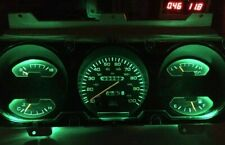 Dodge Ram Ramcharger Cummins Gauge Cluster Green LED Dash Light Upgrade Kit 93