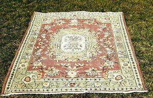 Oriental Design Bohemian Carpet Anatolia Handmade Decorative Wool Area Rug 4x7ft
