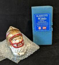 Slavic Treasures Glasscots Florida State Seminoles football Ornament
