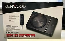 "Kenwood KSC-PSW8 Compact powered 8"" subwoofer - slim design"