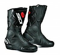 SIDI FUSION BLACK MOTORCYCLE BOOTS SIZE 42