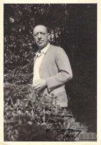 Stravinsky, Igor - Signed Photograph 1946