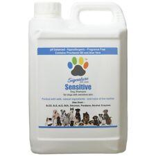 Signature Pet Care Sensitive Hypoallergenic Natural Dog Shampoo Concentrate 2.5L