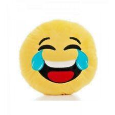 Cuscino peluche cm.19 emoticon risate e lacrime smile messaggino