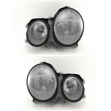 Headlight Set Mercedes W210 E-Class 07/99-03/03 H7/H7 with Indicator