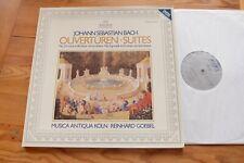 BACH Ouvertüren Suites Musica Antiqua Köln REINHARD GOEBEL LP Archiv 2534 007