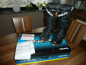 Motocrossstiefel Motocross - Stiefel O'Neal The Rider Gr. 40 Cross Stiefel