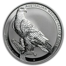 Perth Mint Australia $1 Dollar Wedge Tailed Eagle 2016 1 oz .999 Silver Coin