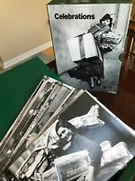 Vintage Getty Blank Greeting Card Stationary Black & White Photography Holiday
