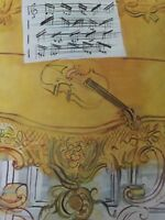 The Yellow Violin Print Vintage Raoul Dufy 25423