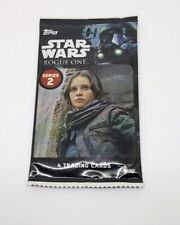 Star Wars Rogue One Topps Series 2 Trading Cards Pack of 4 Unopened Sealed