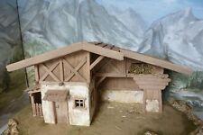 Krippenbausatz / Krippe Bergstall / Bausatz zum Krippe selber bauen / ohne Deko