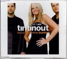 TIN TIN OUT - EMMA BUNTON - SPICE GIRLS - WHAT I AM - 3 TRACK 1999 CD SINGLE