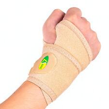Elastic Palm Hand Support Wrist Sleeve Splint Brace Wrap Thumb Guard Sport Glove