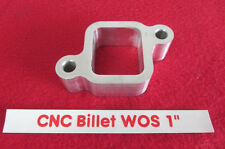 1.00 CNC Billet aluminum water outlet spacer Chevy L6 250 292 Inline