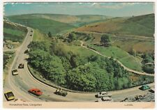 Denbighshire; Horseshoe Pass, Llangollen PPC By Dennis, Note BMC 3 Litre, Mini