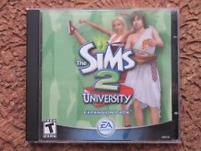 The Sims 2 and University Expansion Bundle (PC, Complete; Ships from Canada)