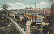 PORTLAND, CT ~ BROWN STONE QUARRY OVERVIEW, SCHMELZER PUB ~ used 1912