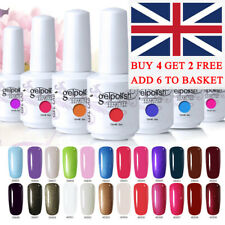 Gel Lab 15ML UV Gel Nail Polish No Wipe Top Base Coat Manicure Lacquer