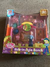 Polly Pocket Ride in Style Ranch 18 Piece Mattel New In Box