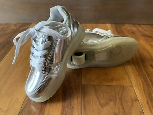 Heelys Sneakers Shoes With Wheels Preowned Unisex Good Condition Youth 13C