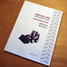 New Holland L555 Skid Steer Loader Skidsteer Service Repair Manual Sperry NH