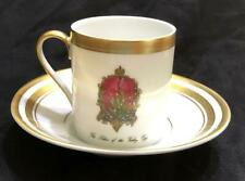 Faberge Imperial Lilies of the Valley Egg Demitasse Cup & Saucer (Set of 6)