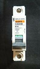 Merlin Gerin Multi 9 C60HB 16 Amp B16 Single Pole C60HB116 MCB