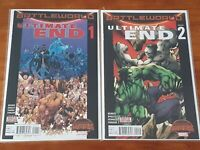 Marvel's Ultimate End #1-5 Battle World High Grade Comic Book RM7-105