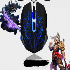2400 DPI 6D Rechargeable LED Optical Wireless Scroll Gaming Mouse For PC Laptop