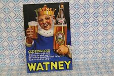 DOLLS HOUSE ( Retro  Metal Sign =   WATNEY PALE ALE