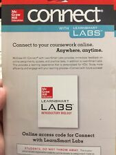Connect Access Card for LearnSmart Labs Microbiology 1st Edition