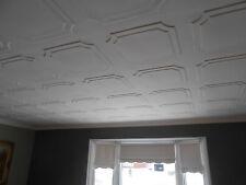 Polystyrene (foam) ceiling tile -RM-8 Lot 48pcs ~130 sq.ft. Glue Up over popcorn