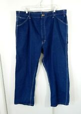 mens blue BIG SMITH jeans carpenter casual workwear work cotton denim 48 X 29