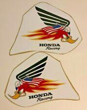 Honda 1985 thru 2000 Xr100 Xr80 Woody American Flag Shroud decals , Graphics