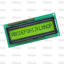 1601 16X1 Character Yellow LCD Display Module LCM STN SPLC780D / KS0066