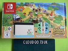 Animal Crossing Nintendo Switch Console New Horizons Edition V2 32gb UK New 2020