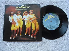 "THE NOLANS WHO'S GONNA ROCK YOU EPIC RECORDS 7"" VINYL SINGLE in PICTURE SLEEVE"